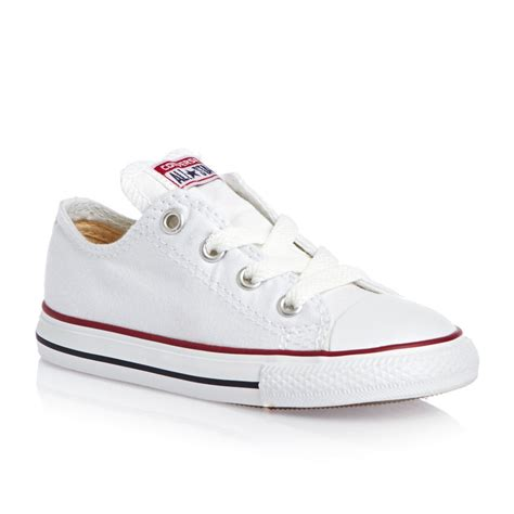 white shoes for toddler converse optic ox white baby boys toddler infant