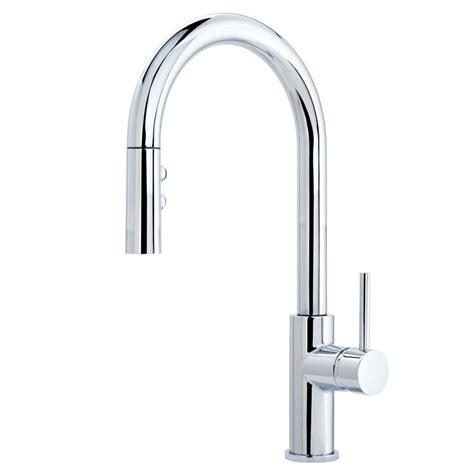 Escutcheon Faucet by Miseno Mno191cp Polished Chrome Bracciano Pull Spray