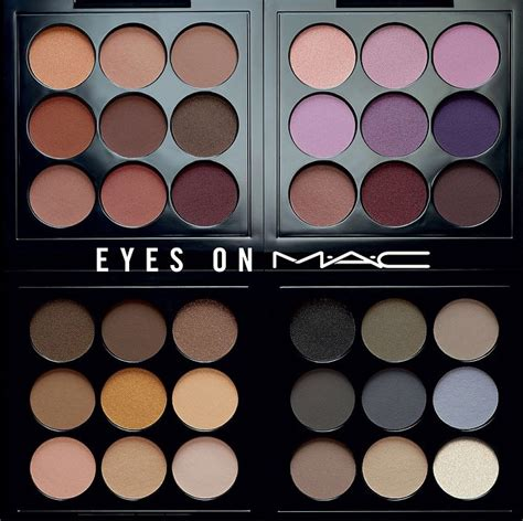 diary of a trendaholic on mac eye shadow palette review