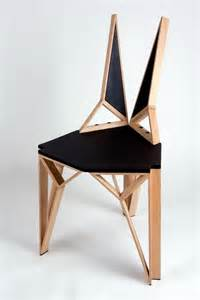 Designer Chair Aggressive Yet Sophisticated Lines Defining Alterego Chair