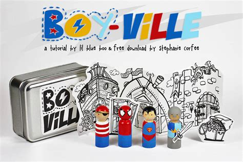 Handmade Gift For Boys - diy and boy peg dolls a tutorial and