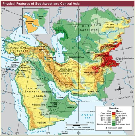 middle east climate zone map geography of the middle east mcgregor s social studies