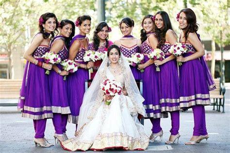 Bridesmaid Dress Patterns In Kerala - indian wedding bridesmaid ideas indian fashion