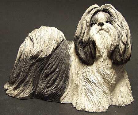 sandicast shih tzu sandicast sculpture dogs at replacements ltd