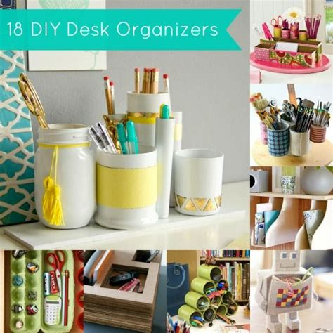 Diy Desk Organizer 18 Project Ideas Jars Diy Desk And Diy Desk Organization