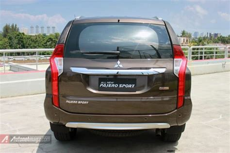All New Pajero Sport Cover Roda Belakang impression review mitsubishi all new pajero sport