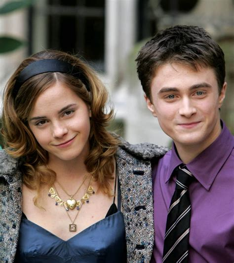 emma watson and daniel radcliffe harry potter movie drama emma watson daniel radcliffe