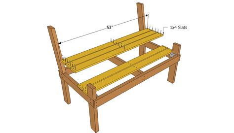 build a park bench free park bench plans wooden bench plans quick