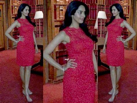 Mallika Sherawat Wardrobe by Mallika Sherawat In Dolce Gabbana Dress Boldsky