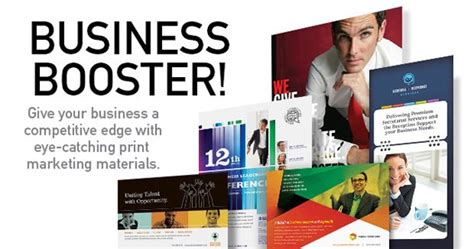 Give Business A Boost Create Professional Marketing Materials With Templates Stocklayouts Blog Marketing Material Templates