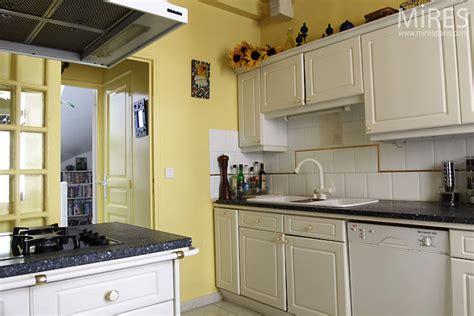 cuisine jaune pale  mires paris