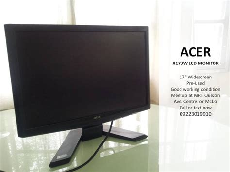 Monitor Lcd Acer 17 Inch Second acer 17 inch lcd monitor images