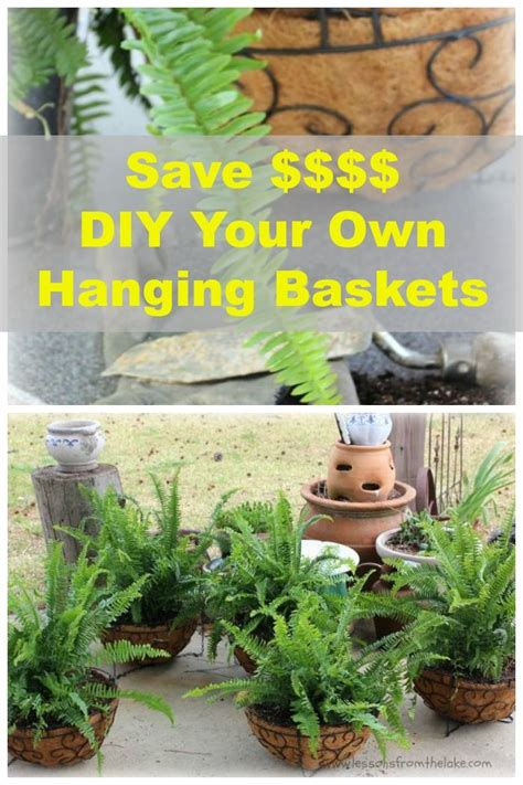 Your Own Hanging Planter Baskets Gardens Plants