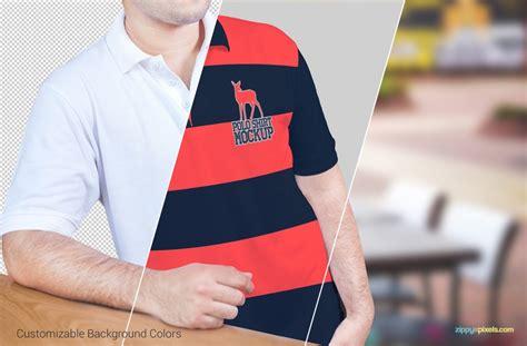 Polo Shirt Skrillex Putih Jaspirow Shopping polo shirt mockup mockupworld