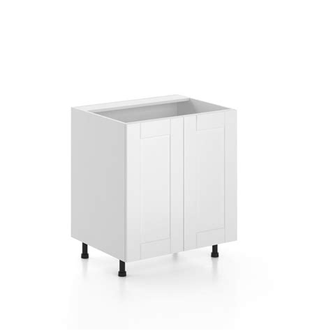 30 Sink Cabinet by Eurostyle Oxford Assembled 30 Inch Sink Base Cabinet
