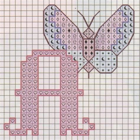 lettere da copiare nomi con il punto croce foto 29 41 pourfemme