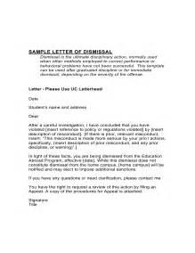 instant dismissal letter template instant dismissal letter template 59 images lease