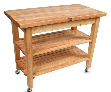 boos table boos country work table butcher block table