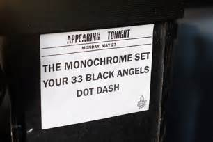 the monochrome set played 1st nyc show in 30 years (pics