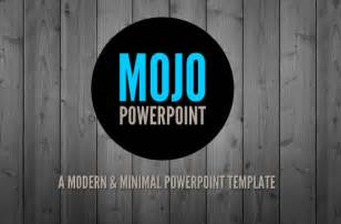 modern powerpoint templates free mojo a clean and modern powerpoint template