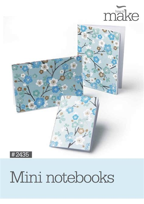 pattern paper lincraft mini notebooks 2435 paper craft lincraft nz