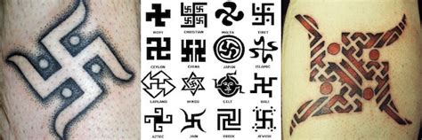 swastika tattoos 9 inadvertently offensive tattoos you should probably