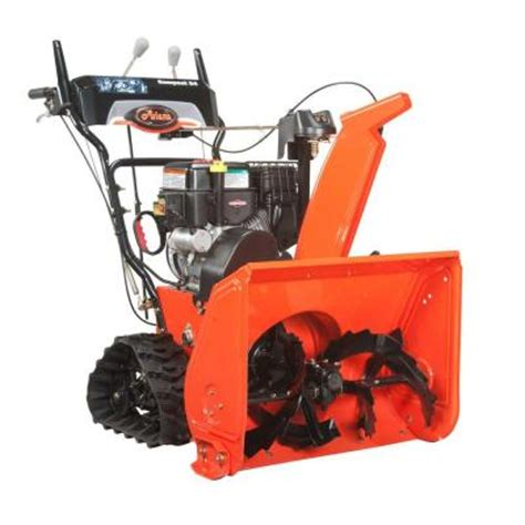 ariens compact track 24 in two stage electric start gas