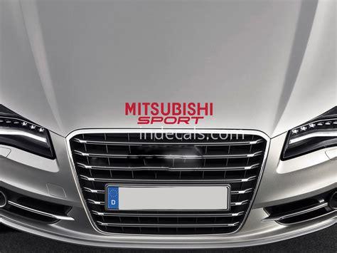mitsubishi sticker red mitsubishi stickers decals indecals com
