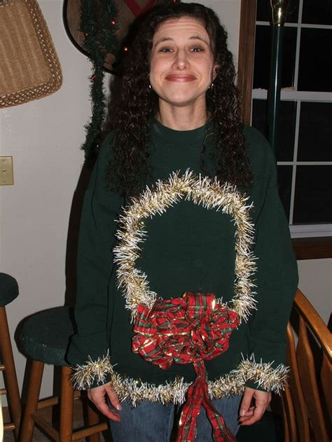 homemade ugly sweater ideas 26 easy diy sweater ideas snappy pixels