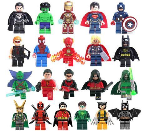 Preloved Mini Aranha Size 21 2018 legos heros wolverines spider sets superman