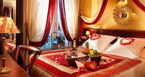 how to set up romantic bedroom romantic honeymoon suite bedroom design in red white and