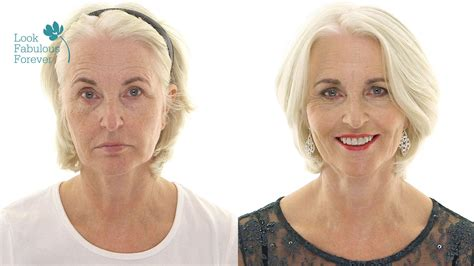 what make up should 70 year old woman wear makeup for older women red carpet party looks youtube