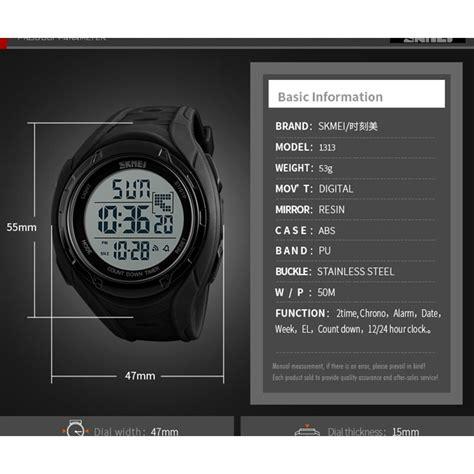 Skmei Jam Tangan Digital Pria 1313 skmei jam tangan digital pria 1313 blue jakartanotebook