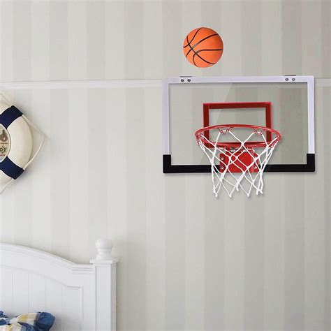 Office Basketball Hoop 18 Quot Mini Basketball Hoop System Indoor Outdoor Office Home