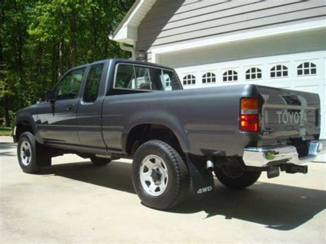 1992 Toyota Tacoma Sell Used 1992 Toyota Tacoma 4x4 Extended Cab 30 386