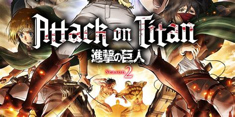 attack on titan season 2 attack on titan season 2 poster and synopsis screen rant