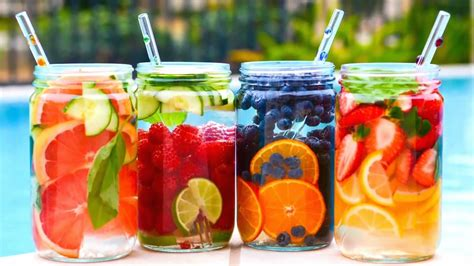 What Fruit Are In Water To Drink And Detox by 10 Fruit Infused Waters Greenblender