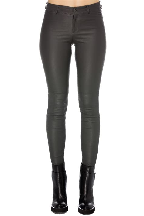 balatt stretch leather grey 365ist