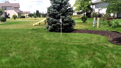 backyard golf hole backyard golf course 2013 walkthrough youtube