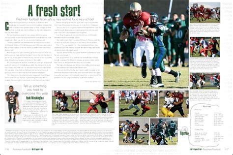 yearbook layout practice el dorado high school yearbook pages 116 117 yearbook