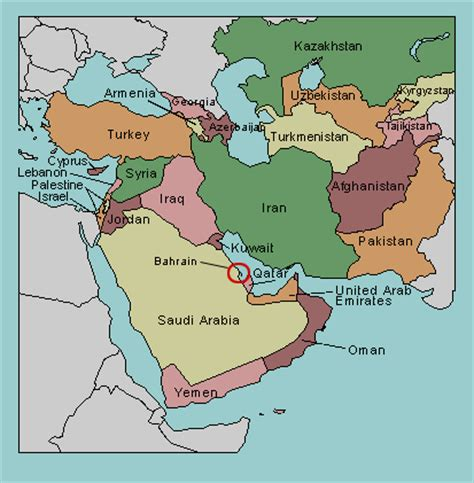 test your geography knowledge western asia: countries