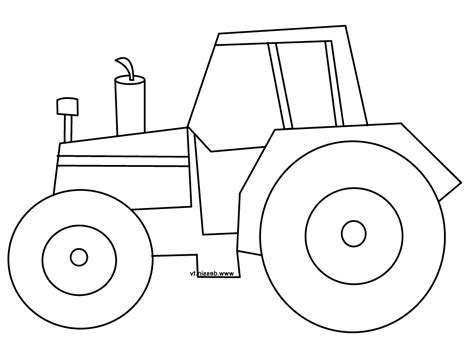 easy tractor coloring pages drawn tractor simple pencil and in color drawn tractor