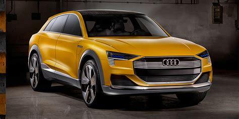 E Audi Reichweite by Audi H Tron Quattro Elektroauto Mit Brennstoffzelle