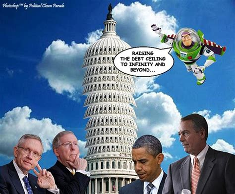 Raising The Debt Ceiling by Political Clown Parade They Told Me If I Voted For