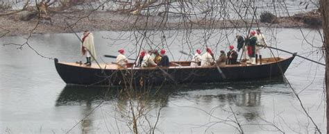 george washington on boat 10 facts about washington s crossing of the delaware river