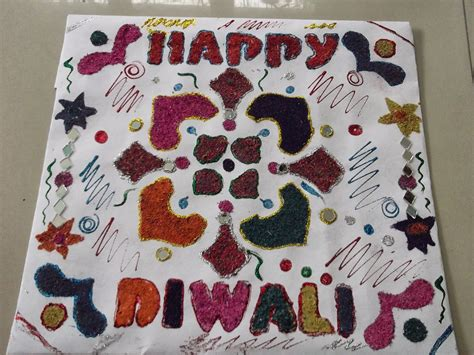 How To Make A Diwali L With Paper - dews the school panchkula diwali paper craft decoration