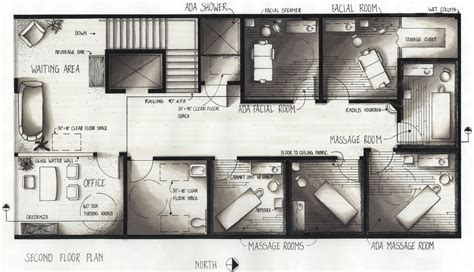 salon layout drawing day spa floor plans http spa bloginterior com day spa