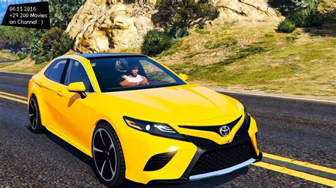 yellow toyota camry 2018 toyota camry xse grand theft auto v vi future