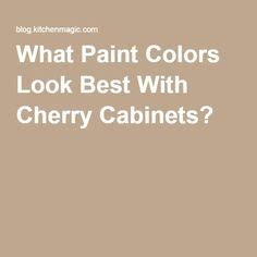 wall colors cherry cabinets and cabinets on