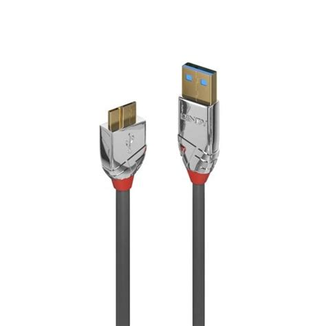 Lindy Cromo Usb 2 0 A To B 2m 1m usb 3 0 type a to micro b cable cromo line from lindy uk